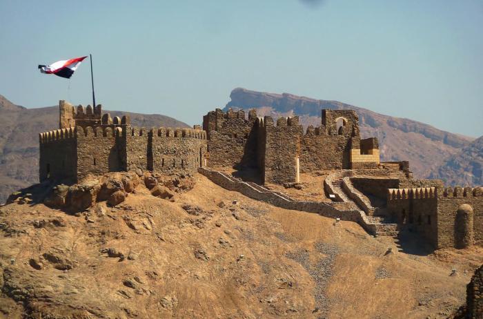 Египет Таба Замок Заман