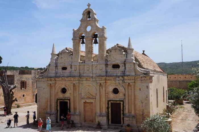 Крит, монастырь Аркади
