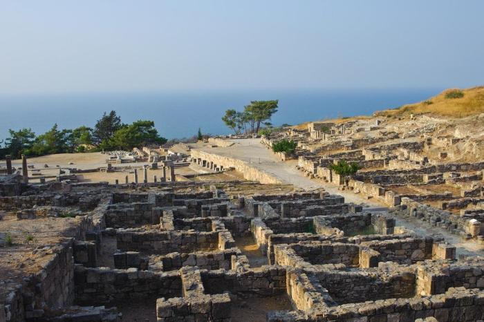 Родос, древний город Камирос