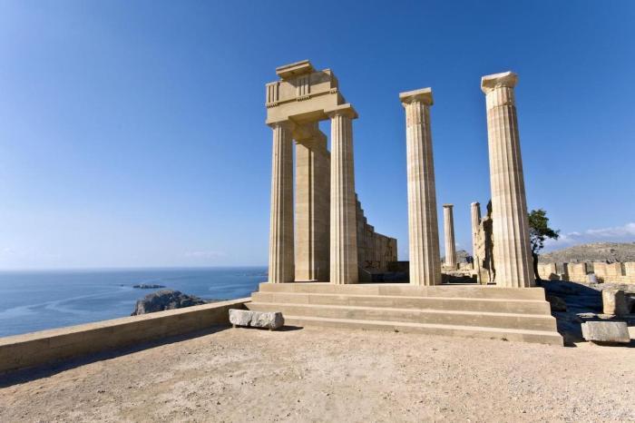 Родос, храм Апполона Пифийского
