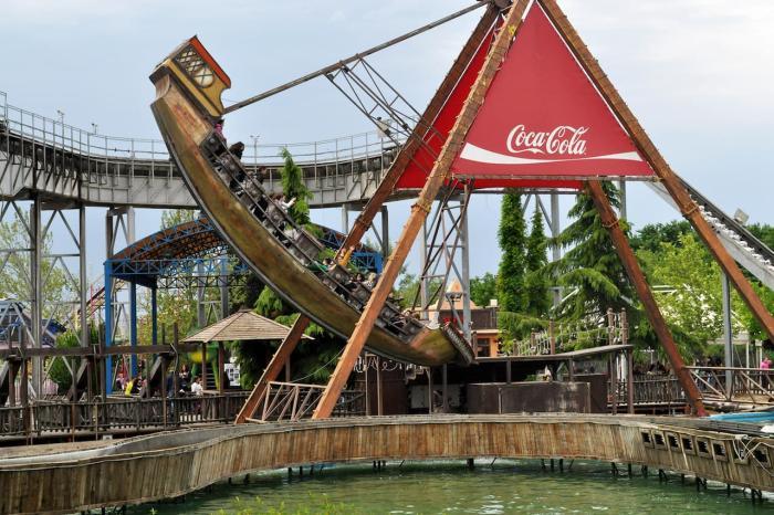 Салоники, развлекательный парк «Magic Park»