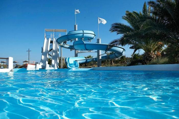 Санторини, аквапарк «Santorini Waterpark»