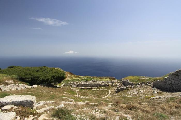 Санторини, археологический заповедник Акротири