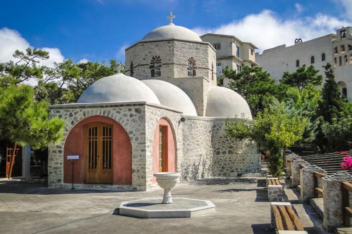 Санторини, монастырь Ильи Пророка