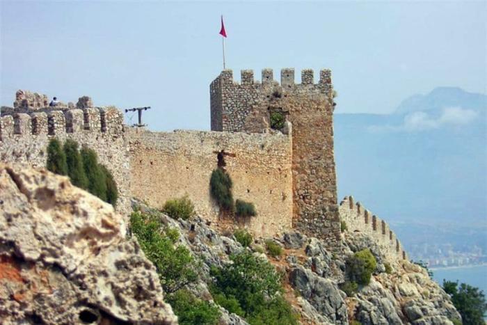 Погода в Алании в январе - Аланийская крепость Сельджуков