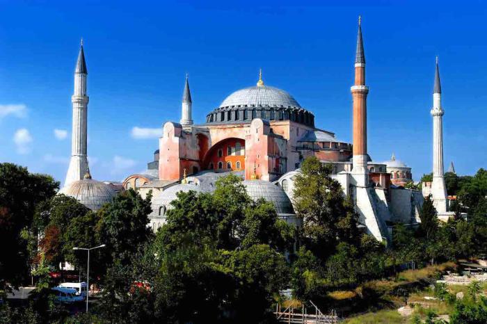 Стамбул, Храм Святой Софии