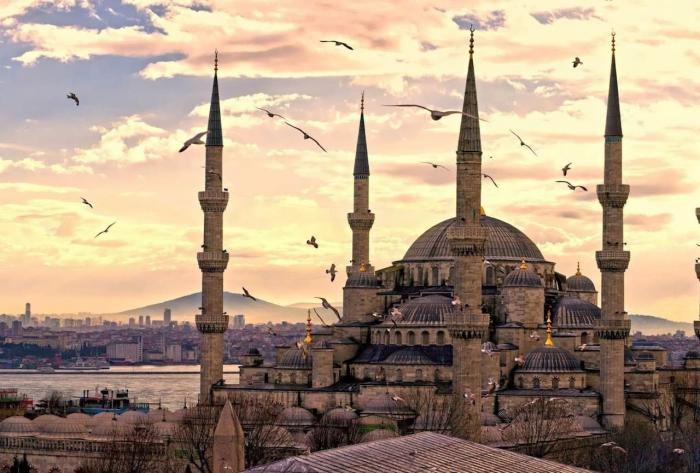 Где теплее всего в Турции в январе