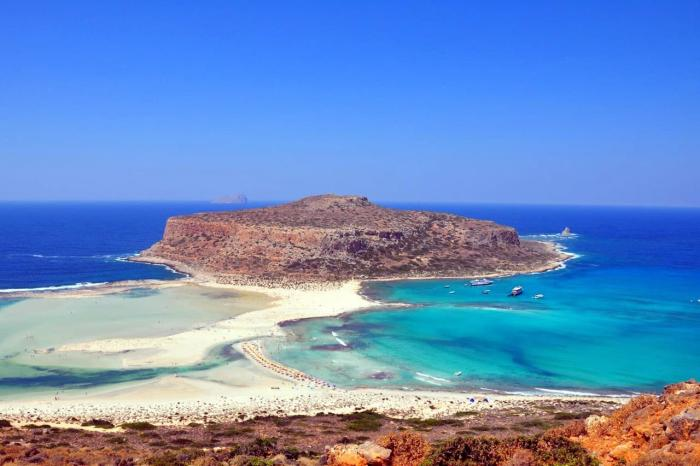 Крит, Пляж Элафониси на Крите