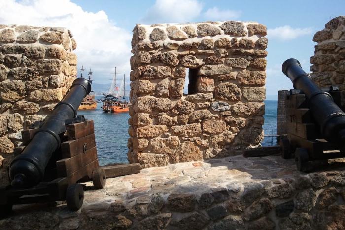 Погода в Аланье в феврале - Крепость