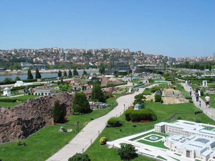 Отдых с ребенком, Парк миниатюр в Стамбуле