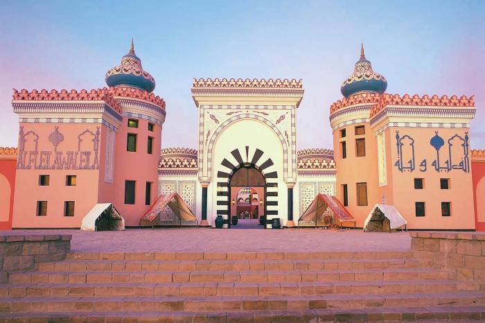 Хургада, дворец 1001 ночь