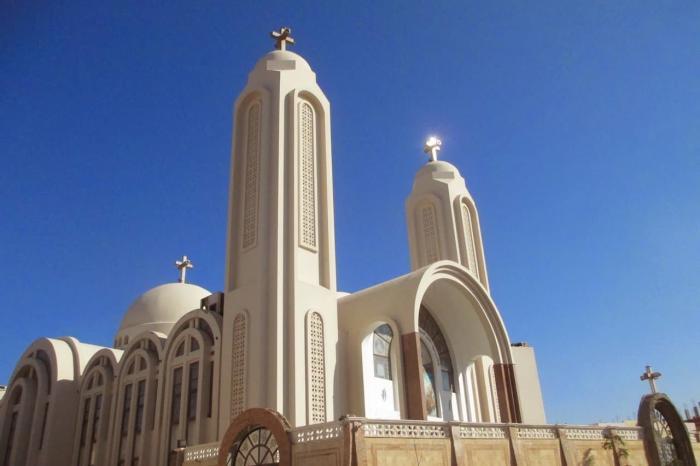Хургада, христианская коптская церковь
