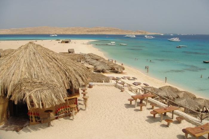 Хургада, пляж