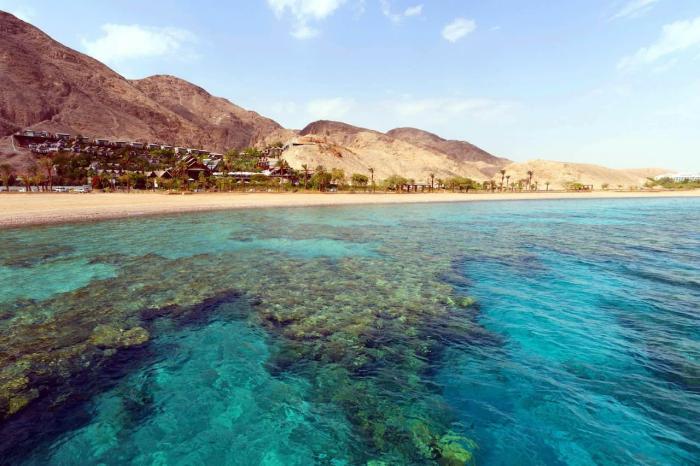 Погода на курорте Таба в марте - залив Акаба