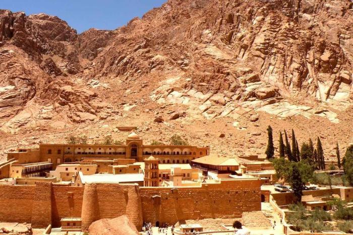 Шарм-эль-Шейх, Монастырь Святой Екатерины в Шарм-эль-Шейхе
