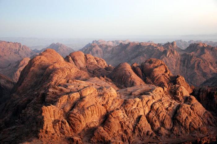 Таба, Гора Моисея в Табе
