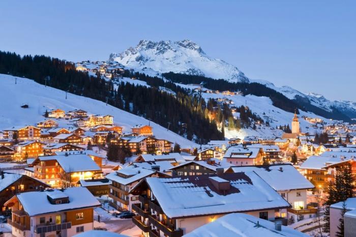 Австрия славится своими горнолыжными курортами