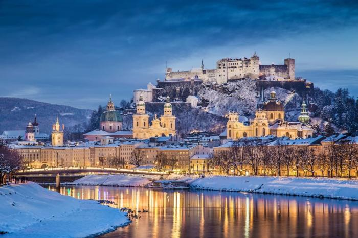 Австрия, Замок Хоэнзальцбург