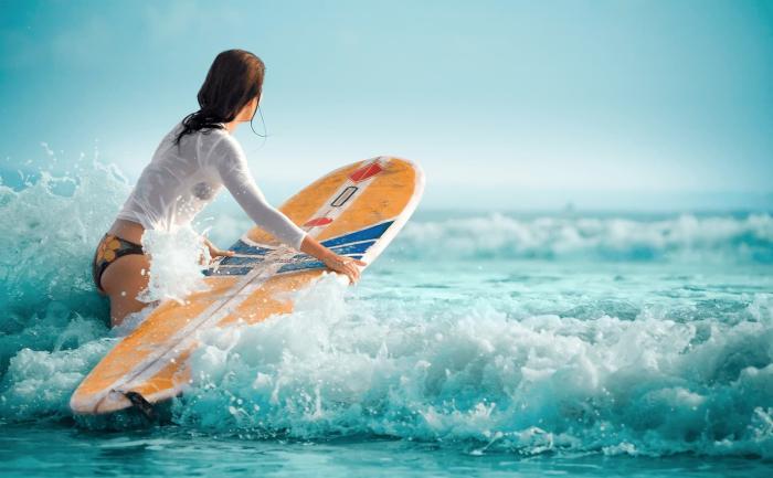 Бали, Попробуйте серфинг