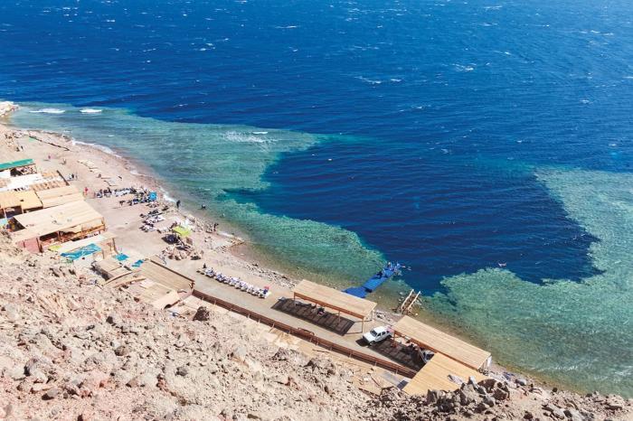 Египет, Голубая дыра в Дахабе будет интересна опытным дайверам