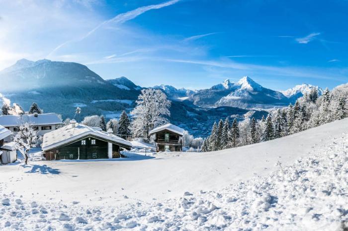Германия, Отдохните в Баварских альпах