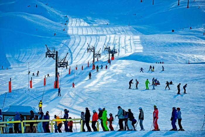 Германия, Покатайтесь на лыжах
