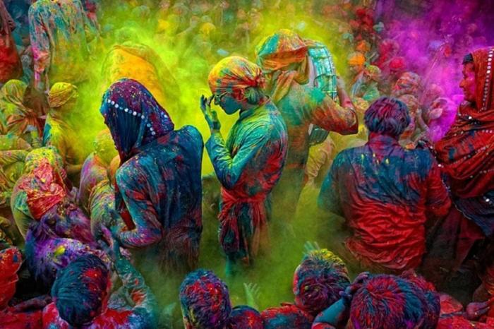 Индия, Гоа, Посетите фестиваль красок