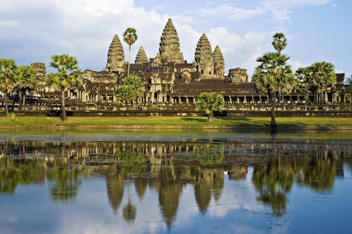 Камбоджа, комплекс храмов Ангкор-Ват