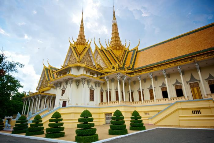 Камбоджа, Королевский дворец