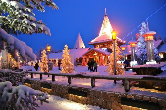 Лапландия, Дом Санта Клауса