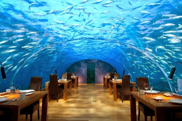 Мальдивы, Подводный ресторан Итхаа
