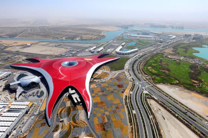 ОАЭ, Посетите тематический парк Ferrari World