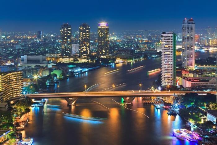 Тайланд, Ночной Бангкок