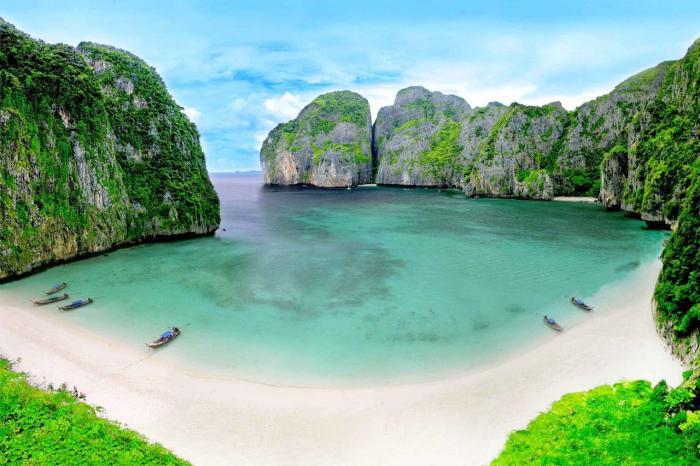 Тайланд, Острова Пхи Пхи, где снимали фильм Пляж с Ди Каприо