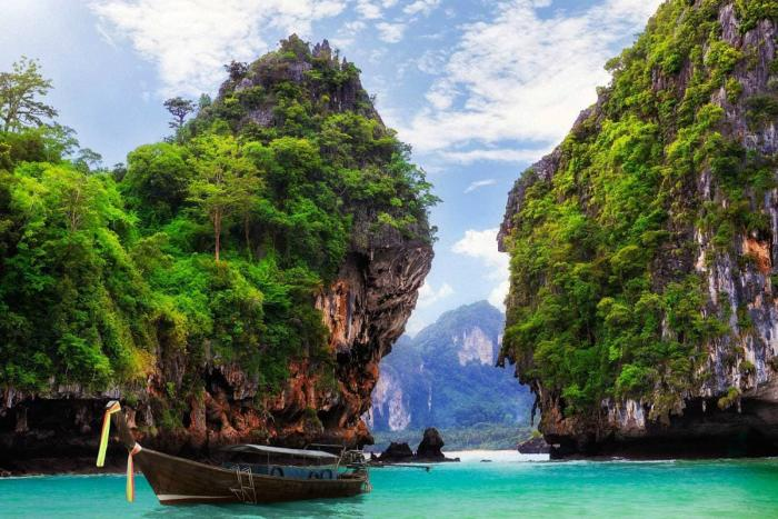 Тайланд, Возьмите лодку и посмотрите острова