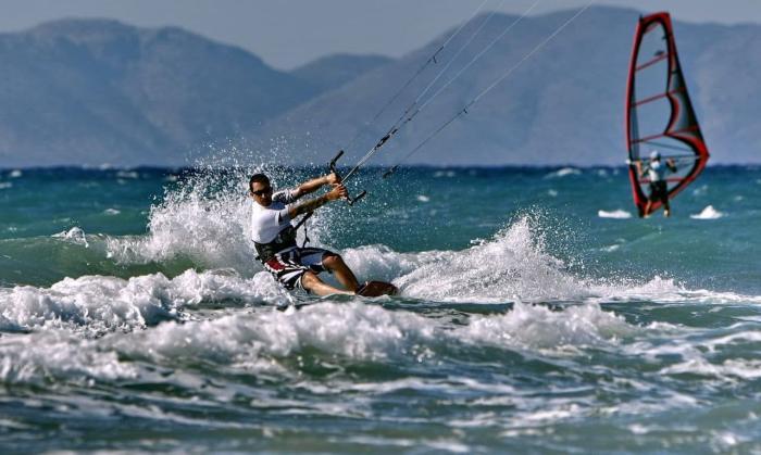 Отдых с детьми, Серфинг на курорте Таба
