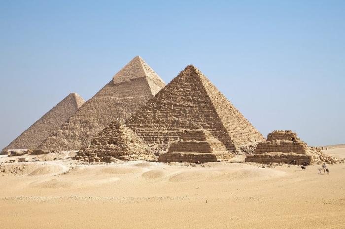Шарм-эль-Шейх, Пирамиды в Гиззе