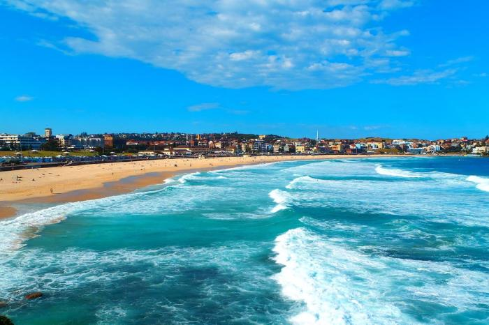 Австралия, Пляж Бонди