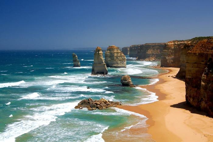 Австралия, Посмотрите на 12 апостолов