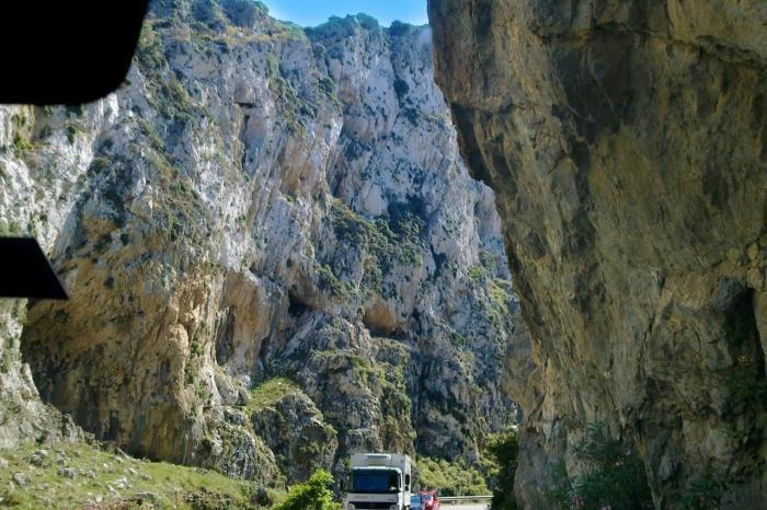 Погода на Крите в сентябре, Курталиотское ущелье