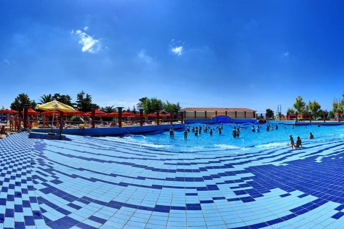 Отдых для детей, Аквапарк Water City на Крите