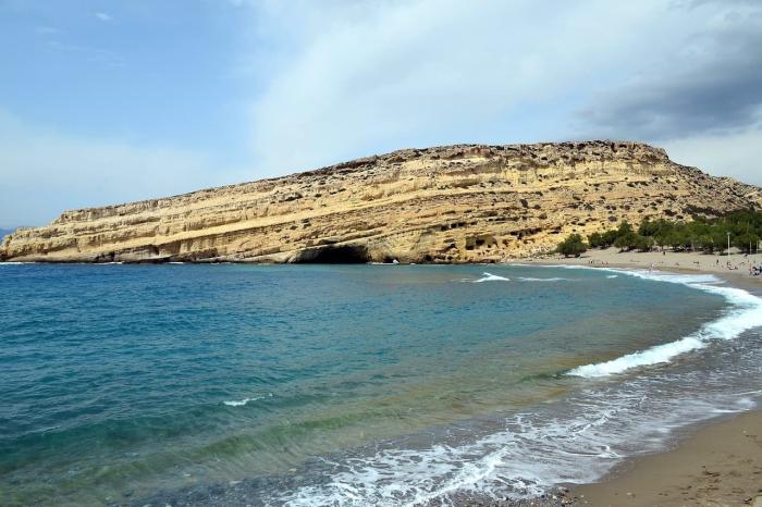 Пещеры на Крите