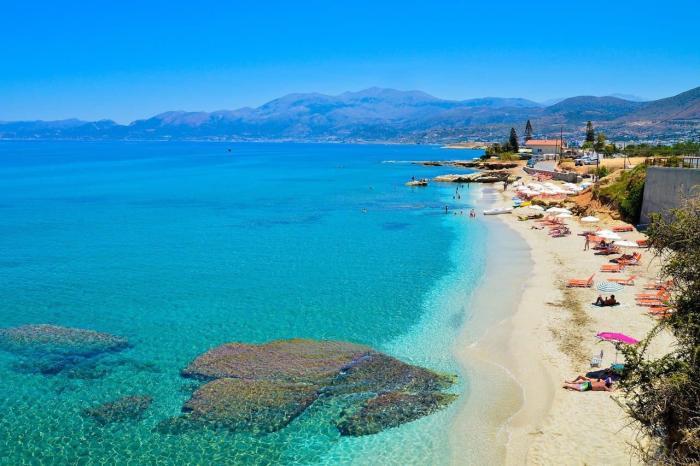 Погода на Крите в сентябре - Пляж на Крите