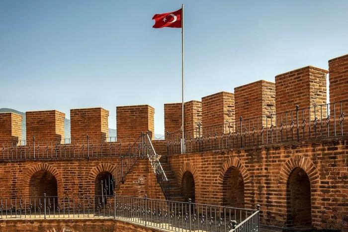 Турция Аланья Кызыл Куле