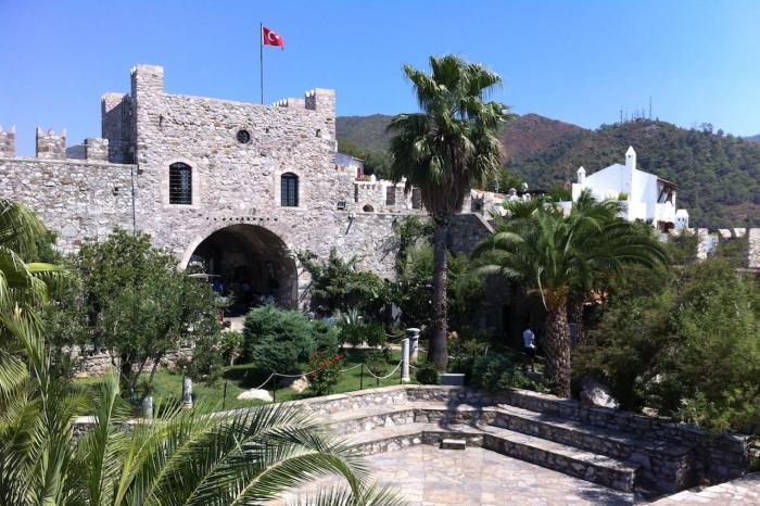Турция Мармарис Замок Мармариса