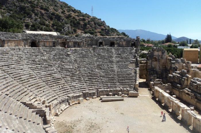 Турция Сиде Античный амфитеатр