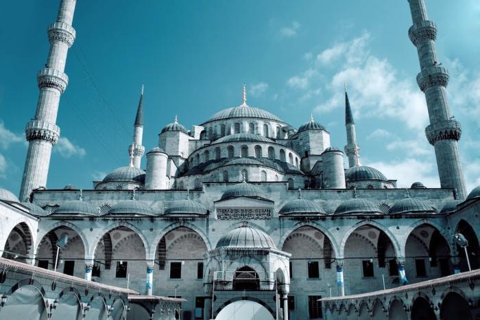 Турция Стамбул Голубая мечеть