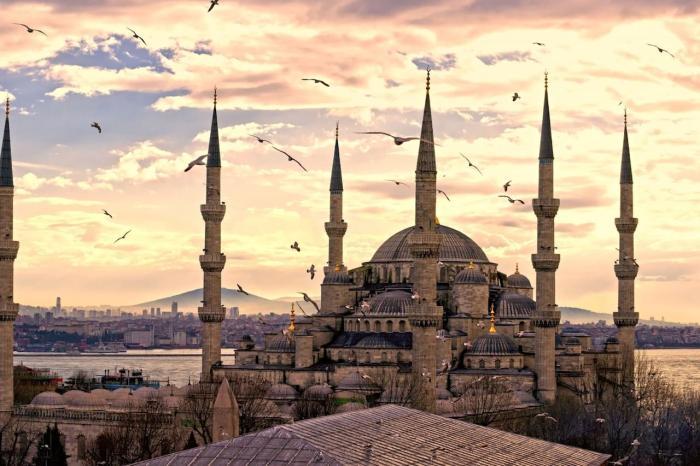 Турция Стамбул Собор Святой Софии