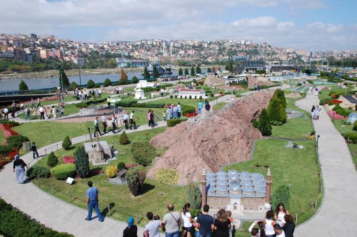 отдых с ребенком, стамбул, парк миниатюрк
