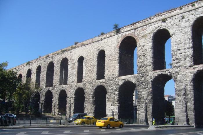 Стамбул, акведук Валента